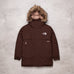 Vintage The North Face Brown Puffer Parka (Ladies 4 - 6)