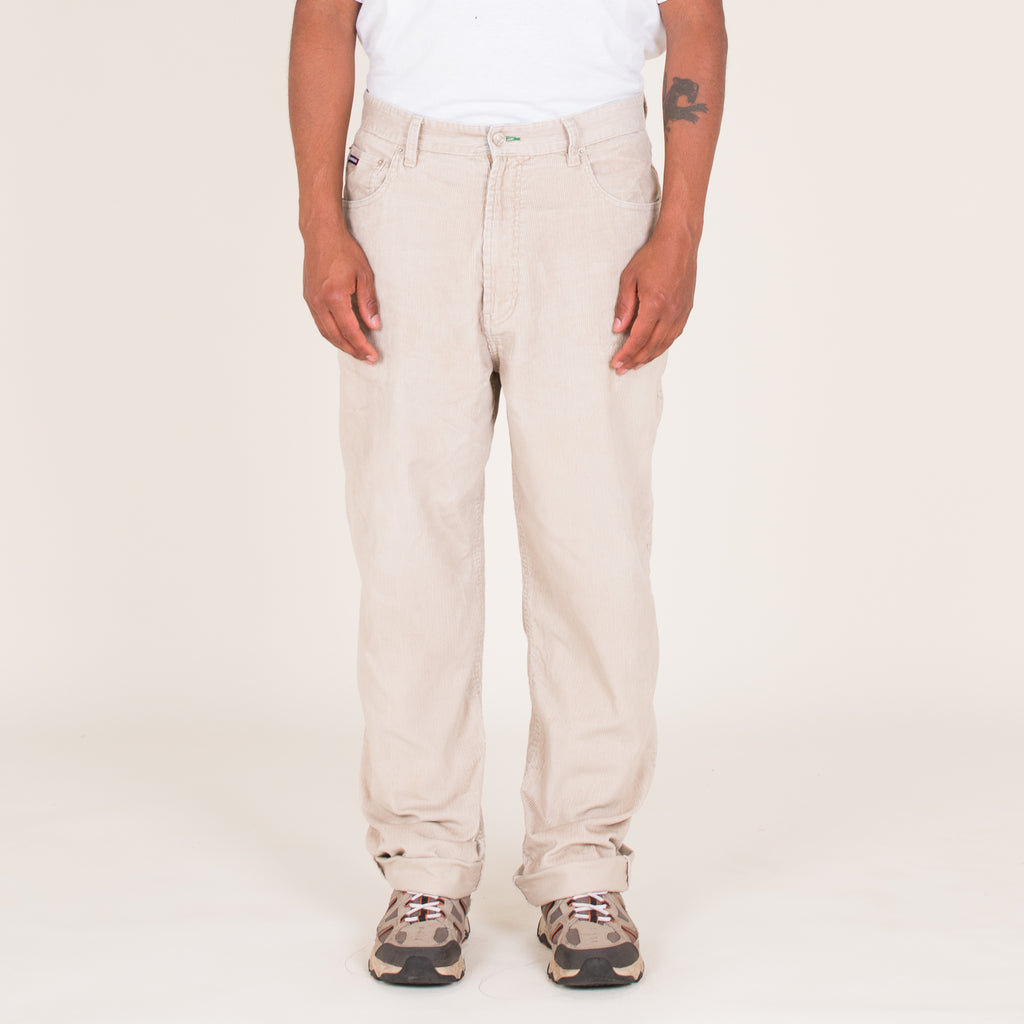 "90s Tommy Hilfiger Tan Corduroy Trousers (34"" - 36"")"