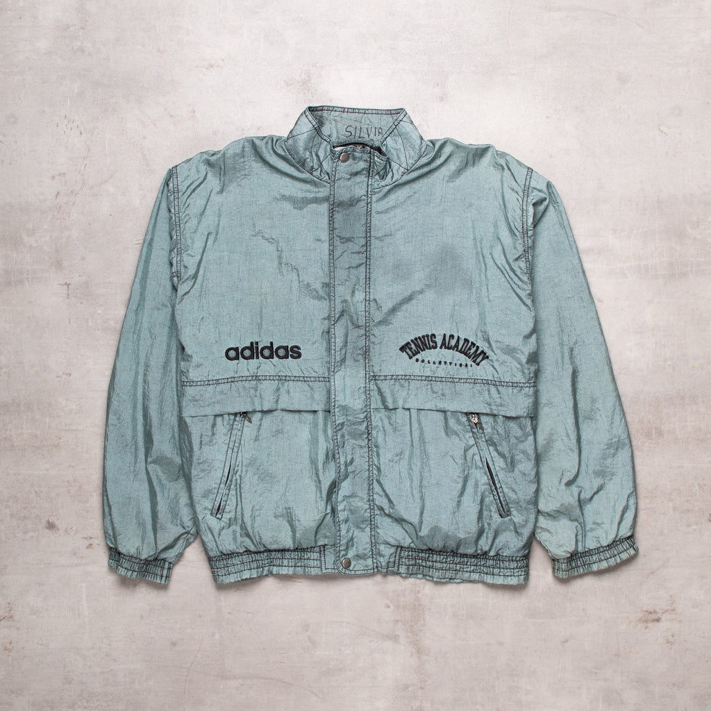 90s Adidas Embroidered Windbreaker (M)