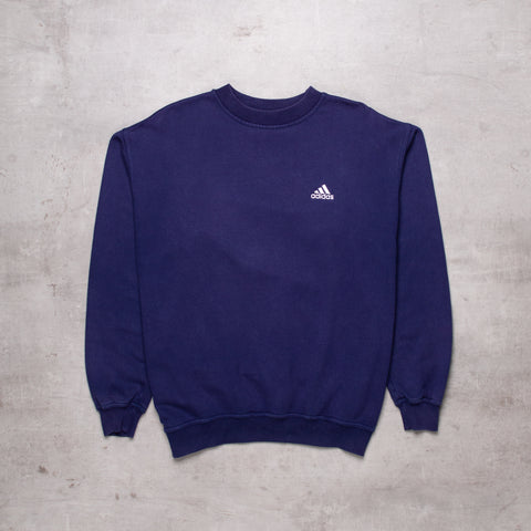 90s Adidas Pocket Spell Out Sweat (M)