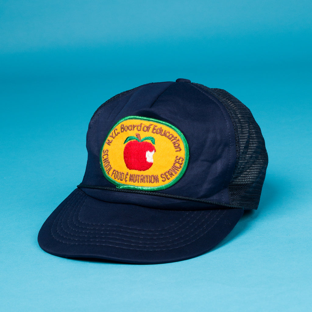 Vintage NYC Embroidered Apple Cap
