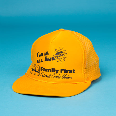 Vintage Family First Sun Cap