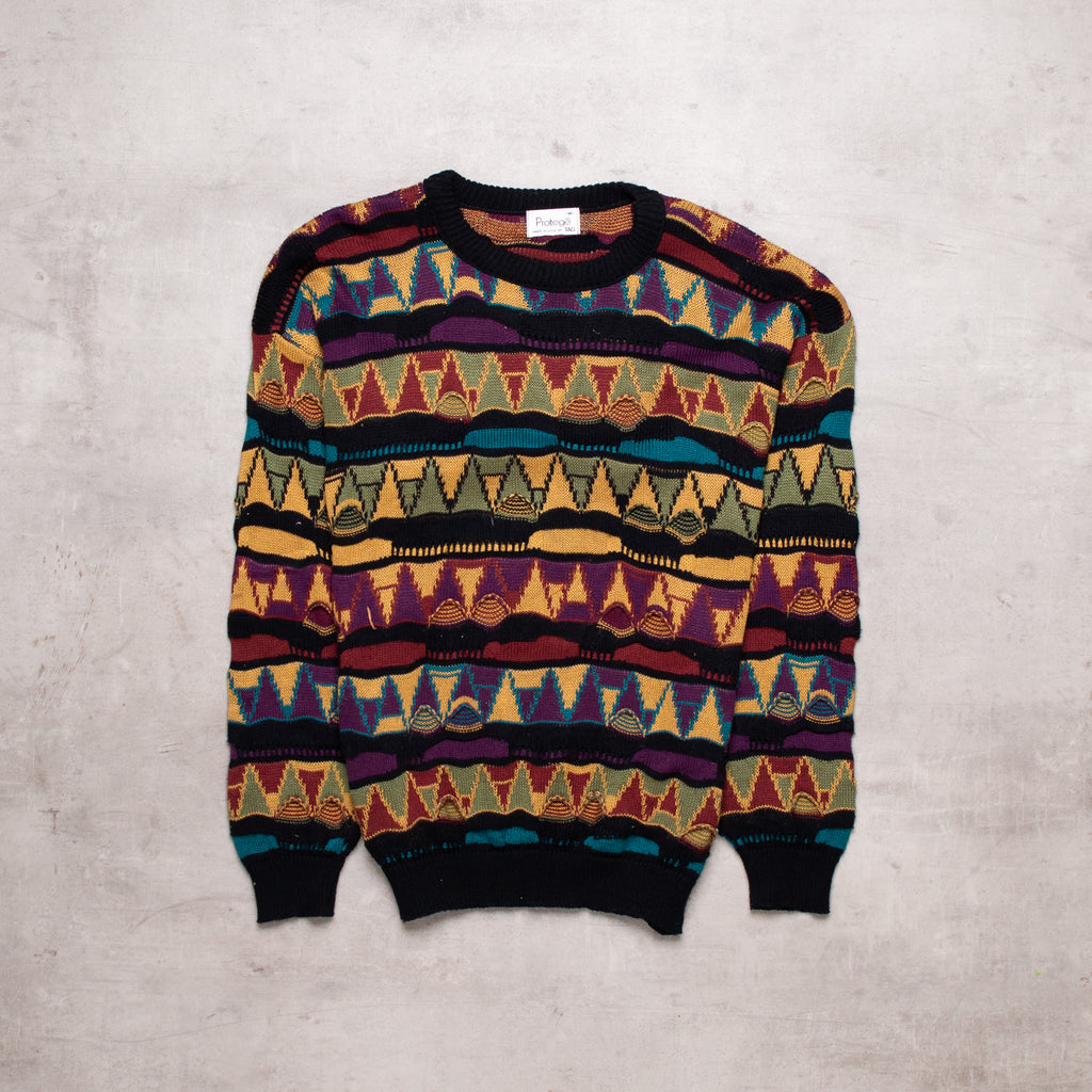 Vintage Coogi Style Sweater (S - M)