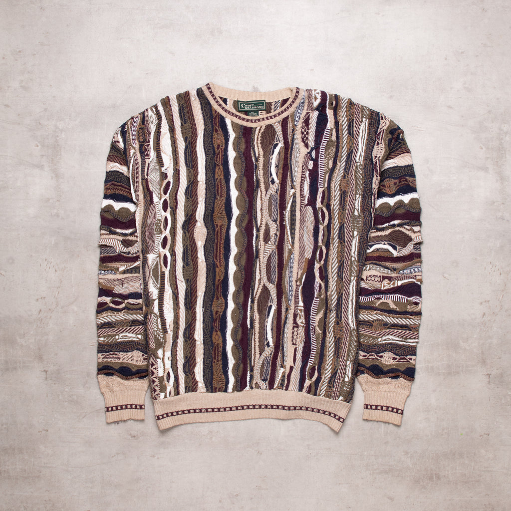 Vintage Coogi Style Sweater (L - XL)