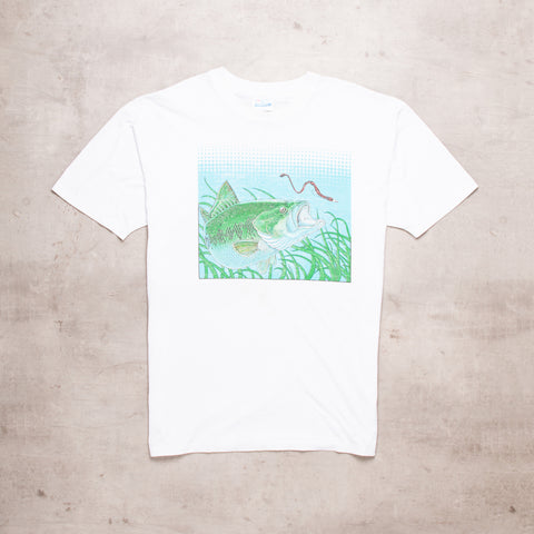 Early 90s Chomping Fish Tee (XL/XXL)
