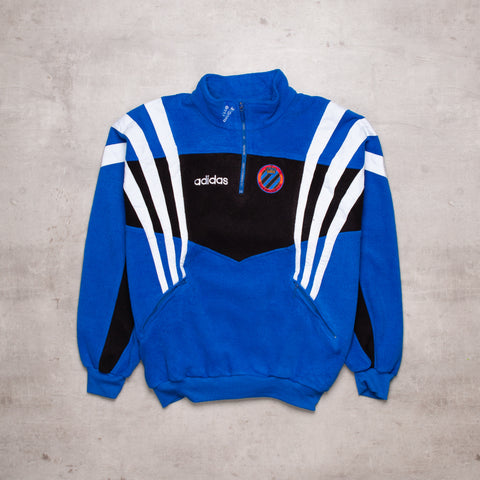 90s Adidas Colour Block Fleece (L)