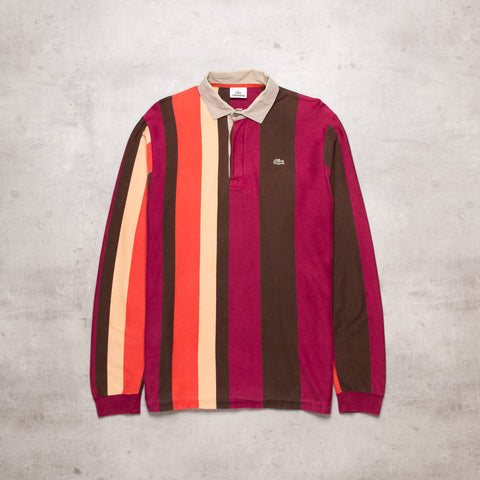 Vintage Lacoste Striped Rugby (M)