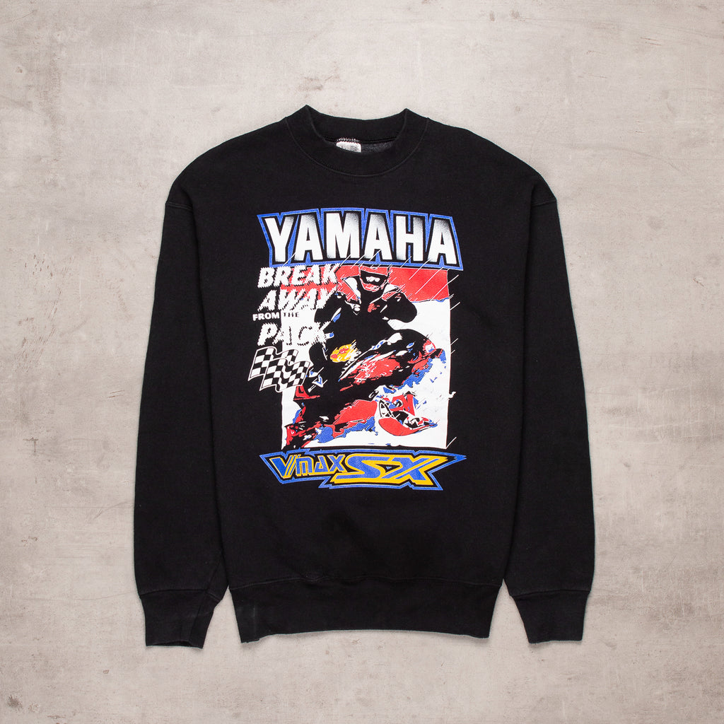 90s Yamaha Spell Out Sweat (M)