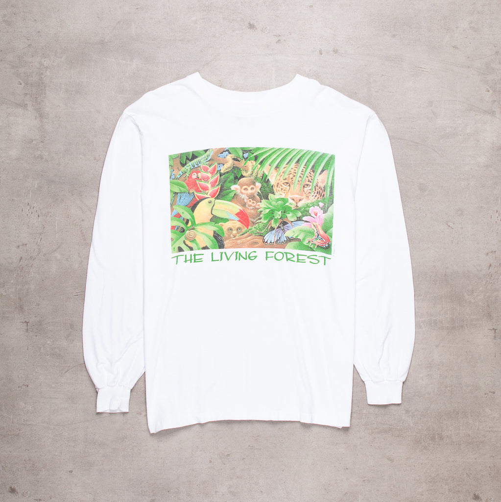 90s Human-i-tees Living Forest Long Sleeve  (L)