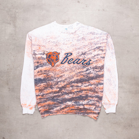 90s Chicago Bears All Over Sweat (M)