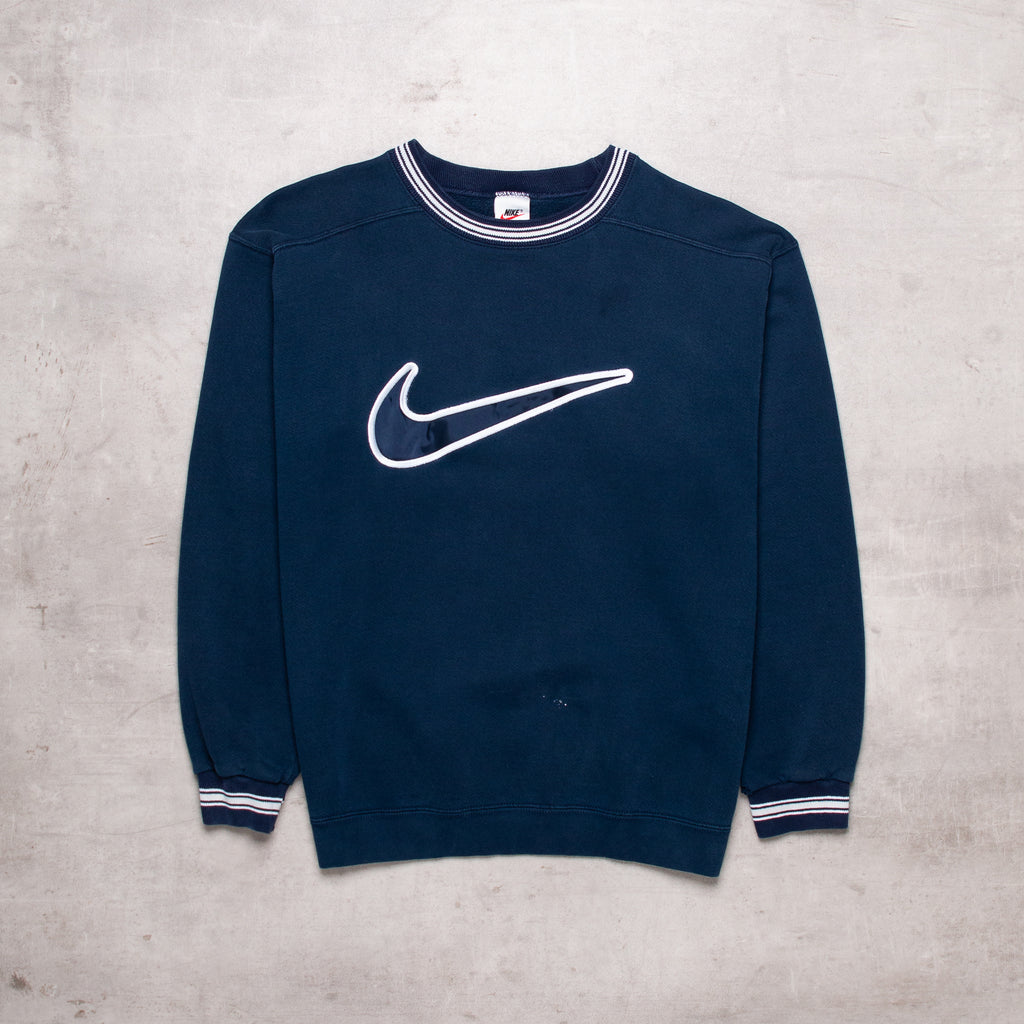 90s Nike Big Swoosh Sweat (M)