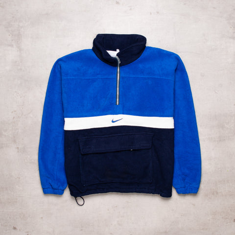 90s Nike Bootleg Colour Block Fleece (S / M)