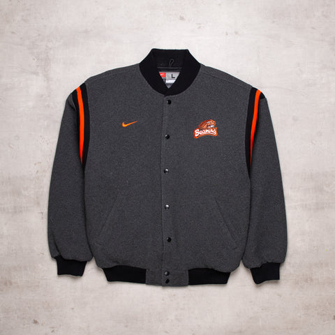 90s Nike Oregon State Fleece Varsity (L)