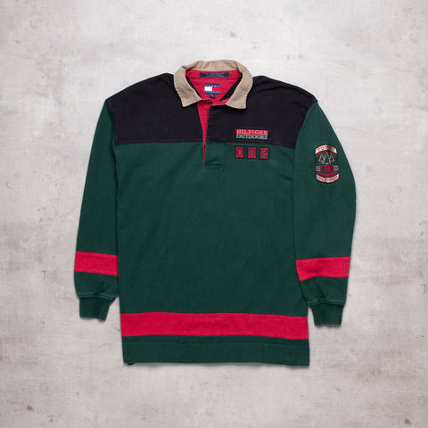 90s Tommy Hilfiger Outdoors Rugby (M)