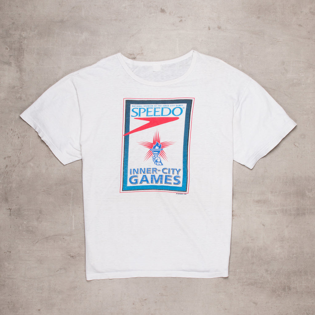 '96 Speedo Spell Out Tee (L/XL)