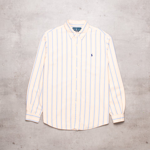 90s Ralph Lauren Striped Shirt (M / L)