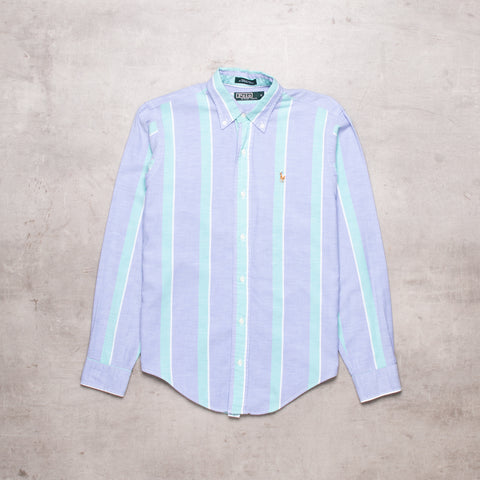 90s Ralph Lauren Striped Shirt (XS / Ladies)