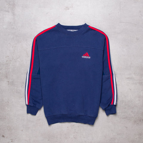 90s Adidas Low Key Sweat (XS / Ladies)