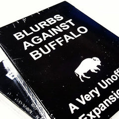 Blurbs Against Buffalo Card Game