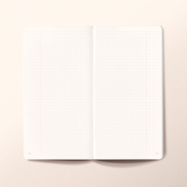N.306 (GRID) Notebook. Slim / Traveler's notebook size [M]