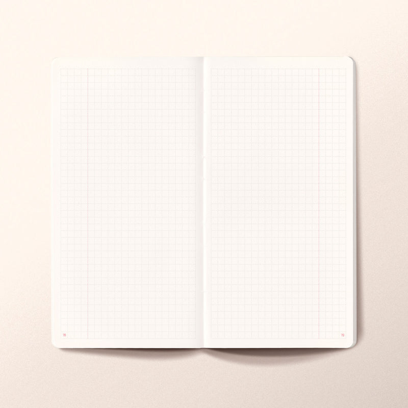 N.306 (GRID) Notebook. Slim / Traveler's notebook size [G]