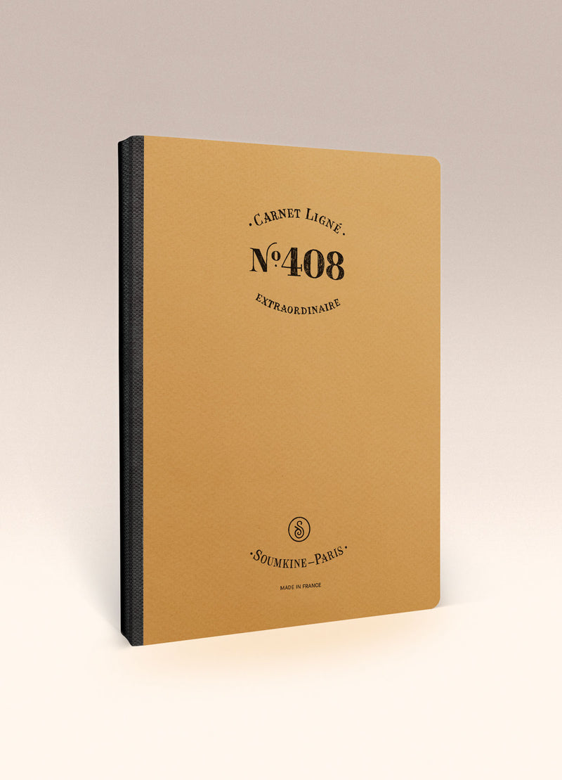 N.408 (RULED) Notebook. A5 size [M]