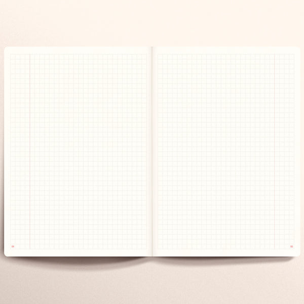N.406 (GRID) Notebook. Slim / A5 size [M]