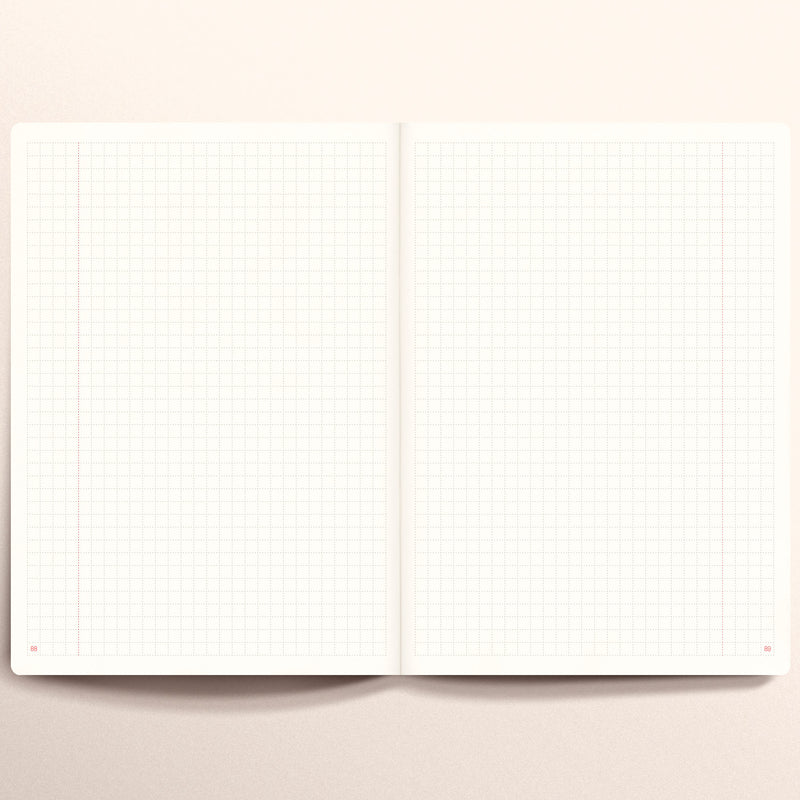 N.406 (GRID) Notebook. Slim / A5 size [R]