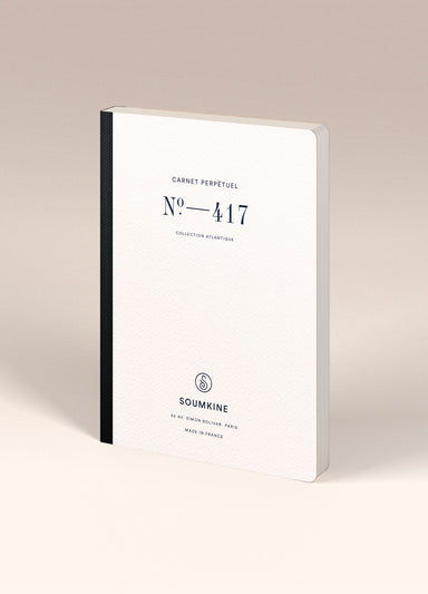 N. 417 (Universal Planner). 100% Cotton Paper. A5 size