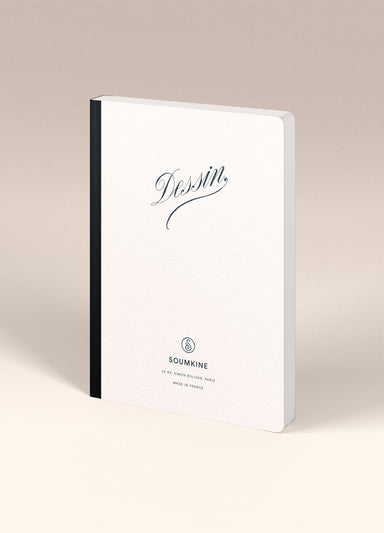 """Dessin"" A5 Size. Ultra-Premium Sketchbook. 100% Cotton paper"