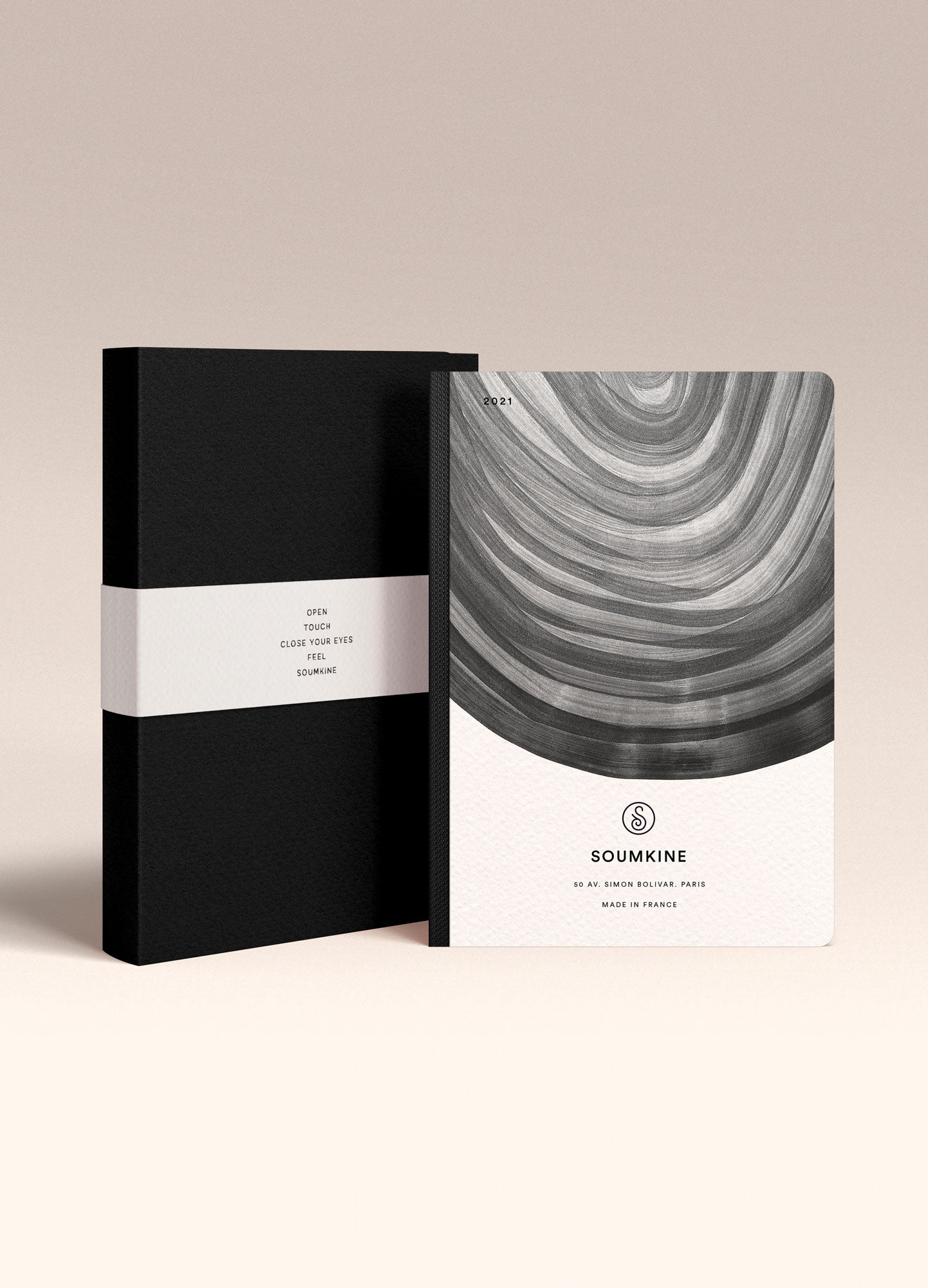 """Untitled 07"" by Anna Chask. 2021 Weekly planner A5 Size. 100% Cotton Paper"
