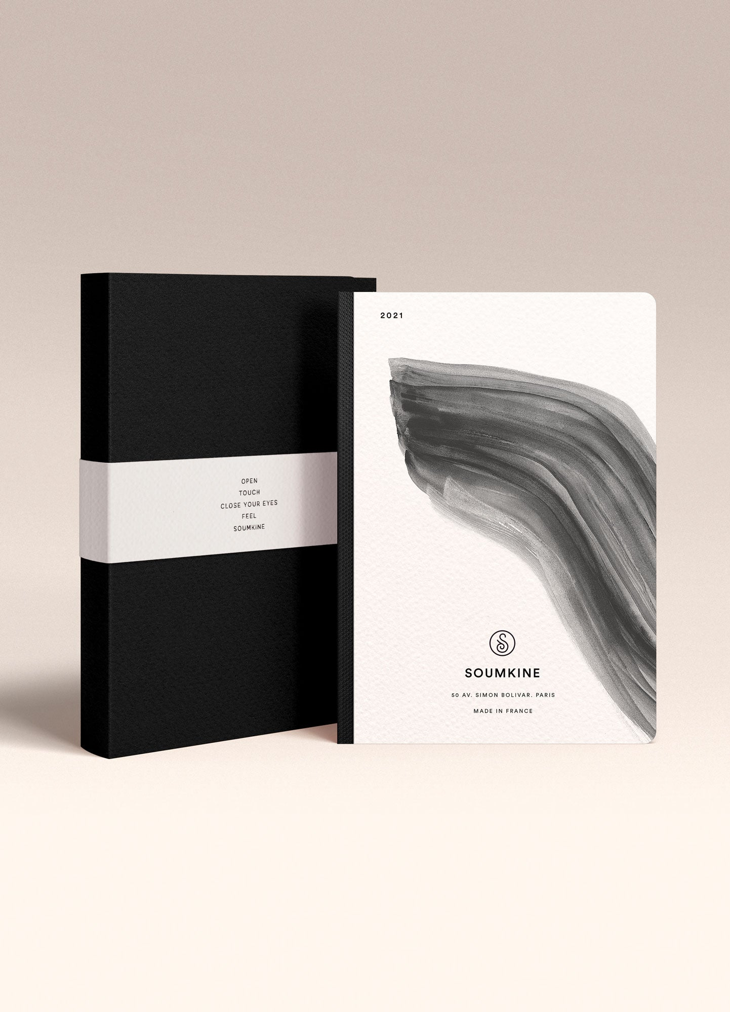 """Untitled 06"" by Anna Chask. 2021 Weekly planner A5 Size. 100% Cotton Paper"