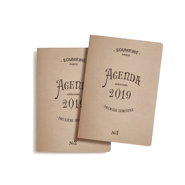Weekly Planner – 2019 – A5 – Set of 2