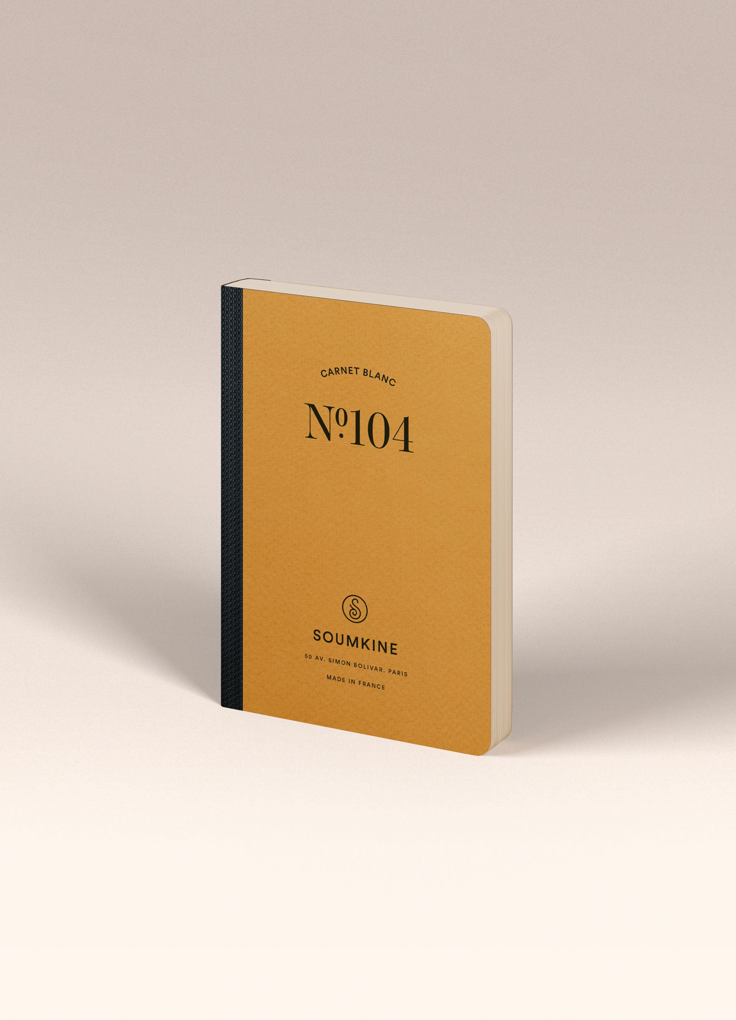 N.104 (PLAIN) Notebook. A6 Size