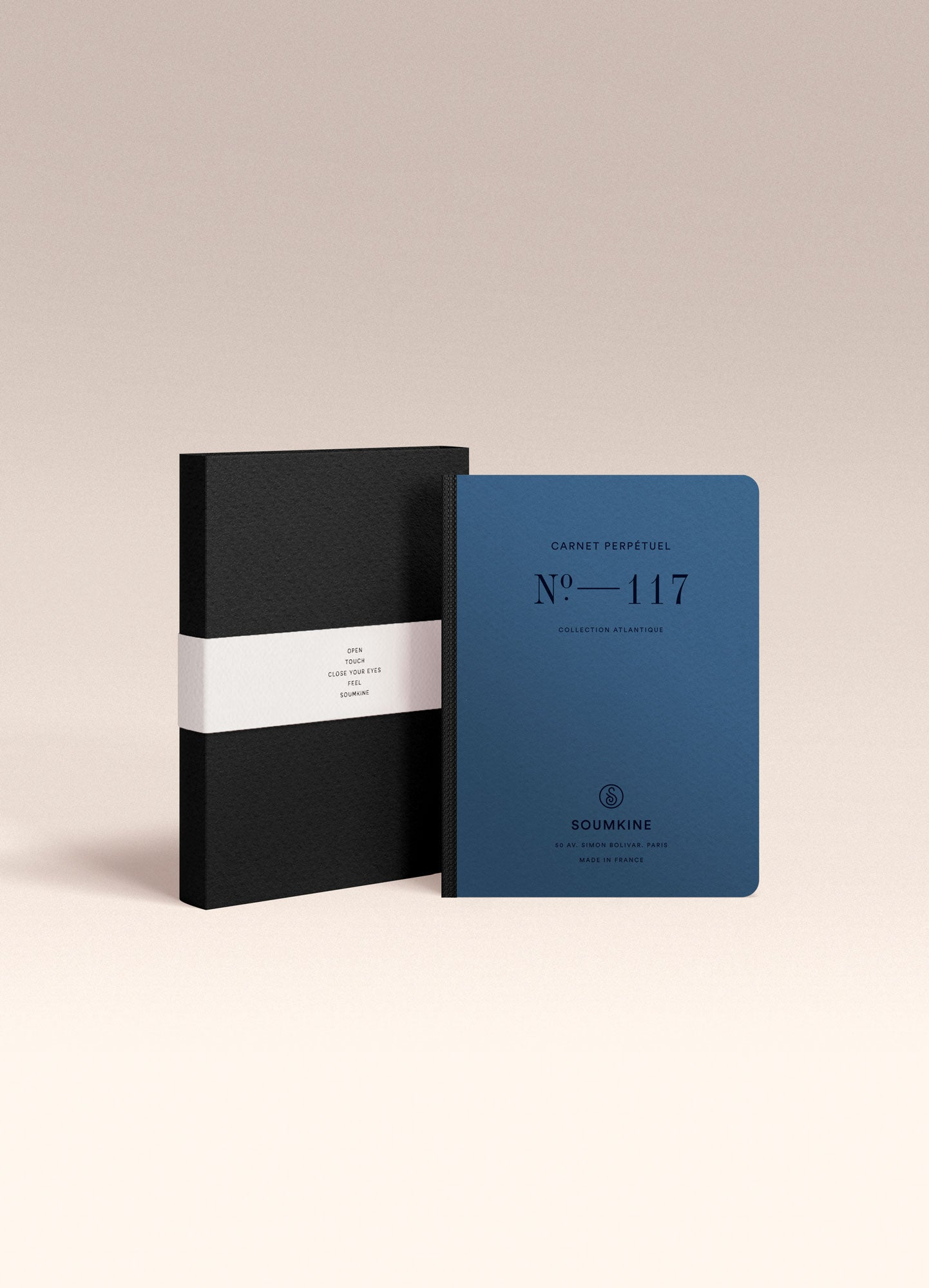 N. 117 (Universal Planner). 100% Cotton Paper. A6 size