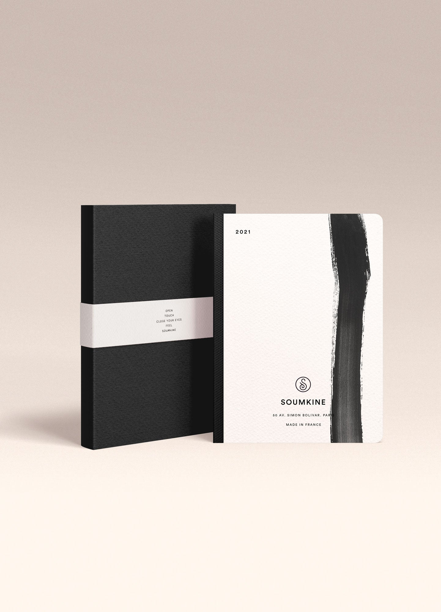 """Untitled 03"" by Anna Chask. 2021 Weekly planner B6 Size. 100% Cotton Paper"