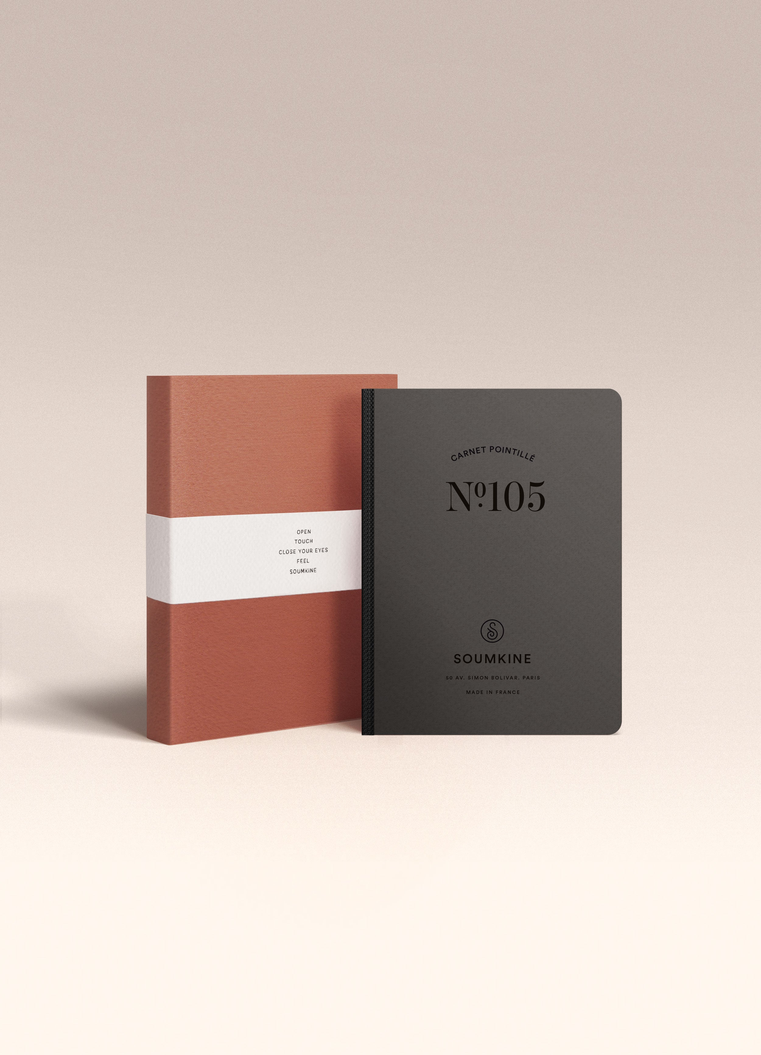 N.105 (DOTTED) Notebook. A6 size