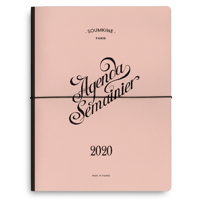 Extraordinary Weekly Planner — 2020. B5 Size
