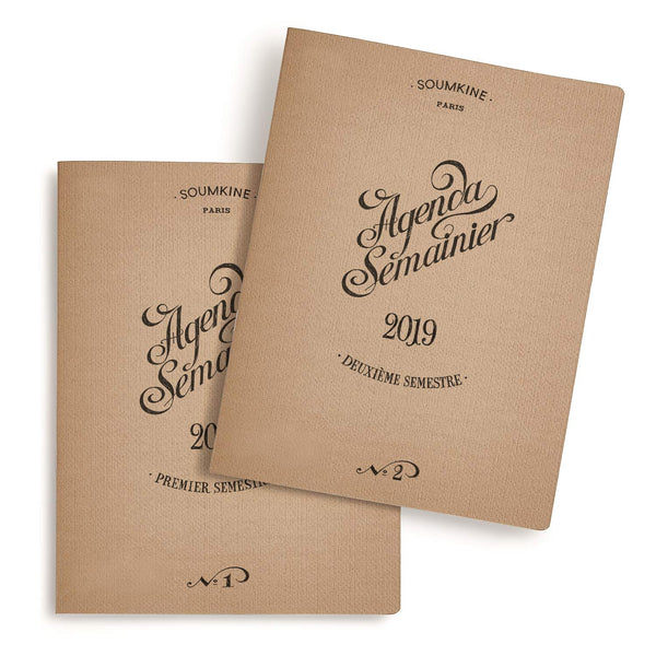 Weekly Planner – 2019 – B5 – Set of 2