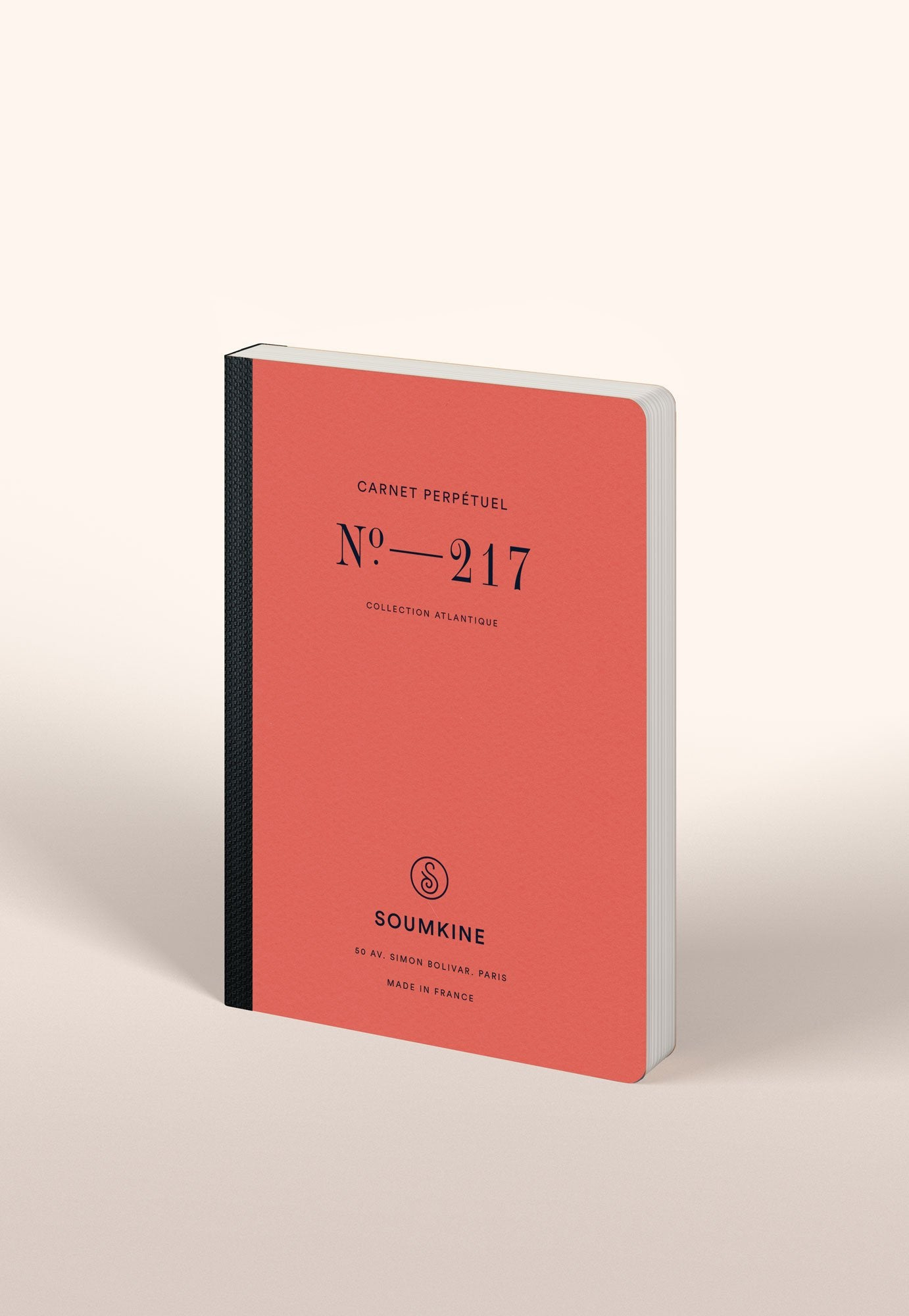 N. 217 (Universal Planner). 100% Cotton Paper. B6 size