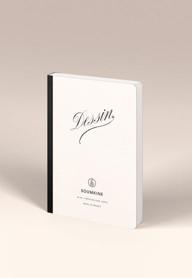 """Dessin"" B6 Size. Ultra-Premium Sketchbook. 100% Cotton paper"