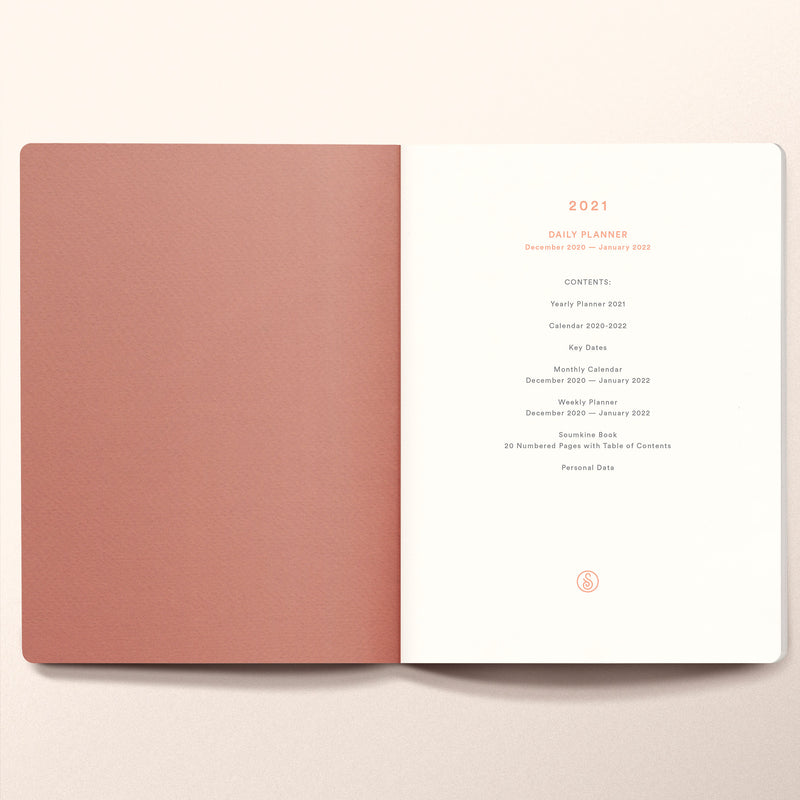 2021 Daily planner B6 Size