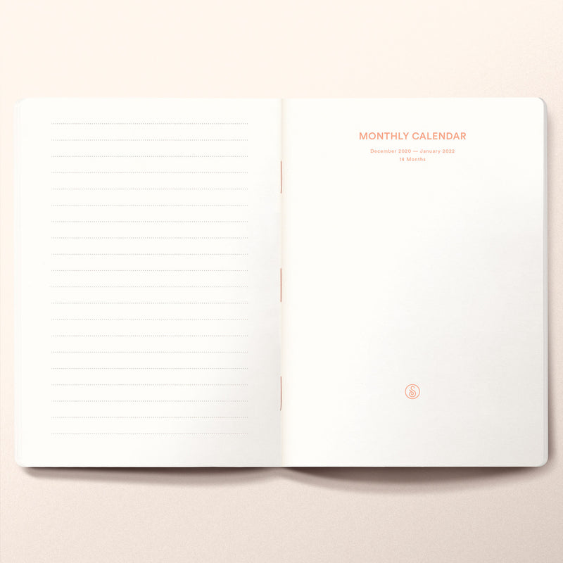 2021 Daily planner B6 Size. Limited edition of 20
