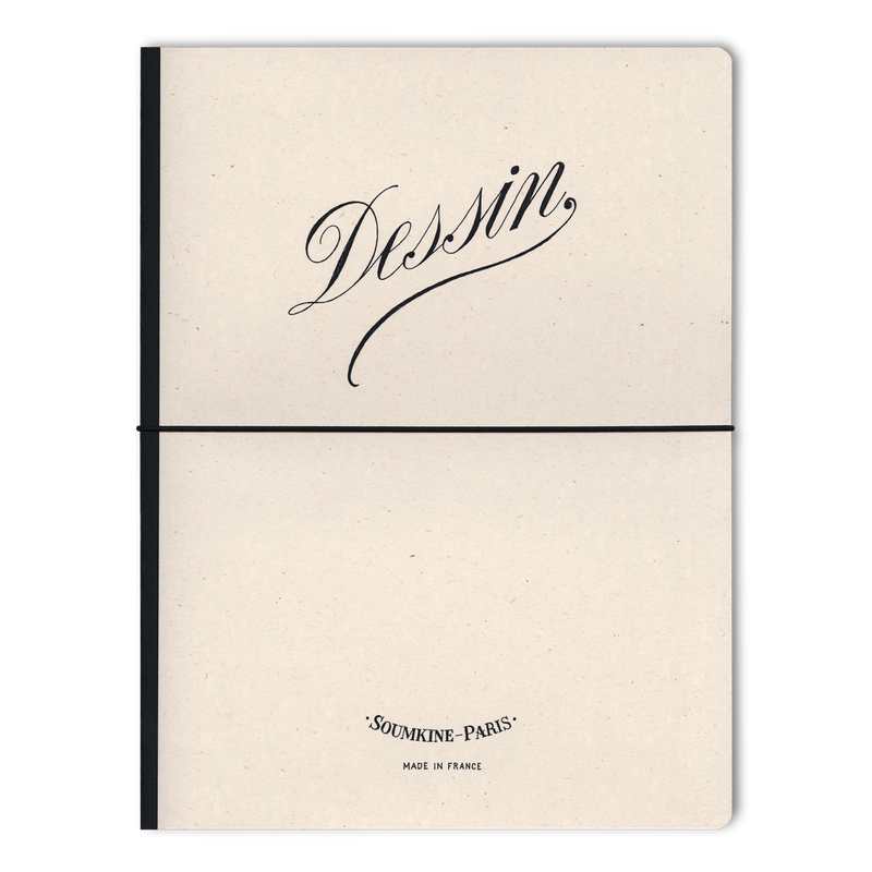 'Dessin' B5 Size. Ultra-Premium Sketchbook. 100% Cotton paper. 19×25cm