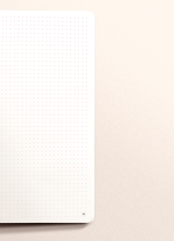 N.305 (DOTTED) Notebook. Slim / Traveler's notebook size [R]