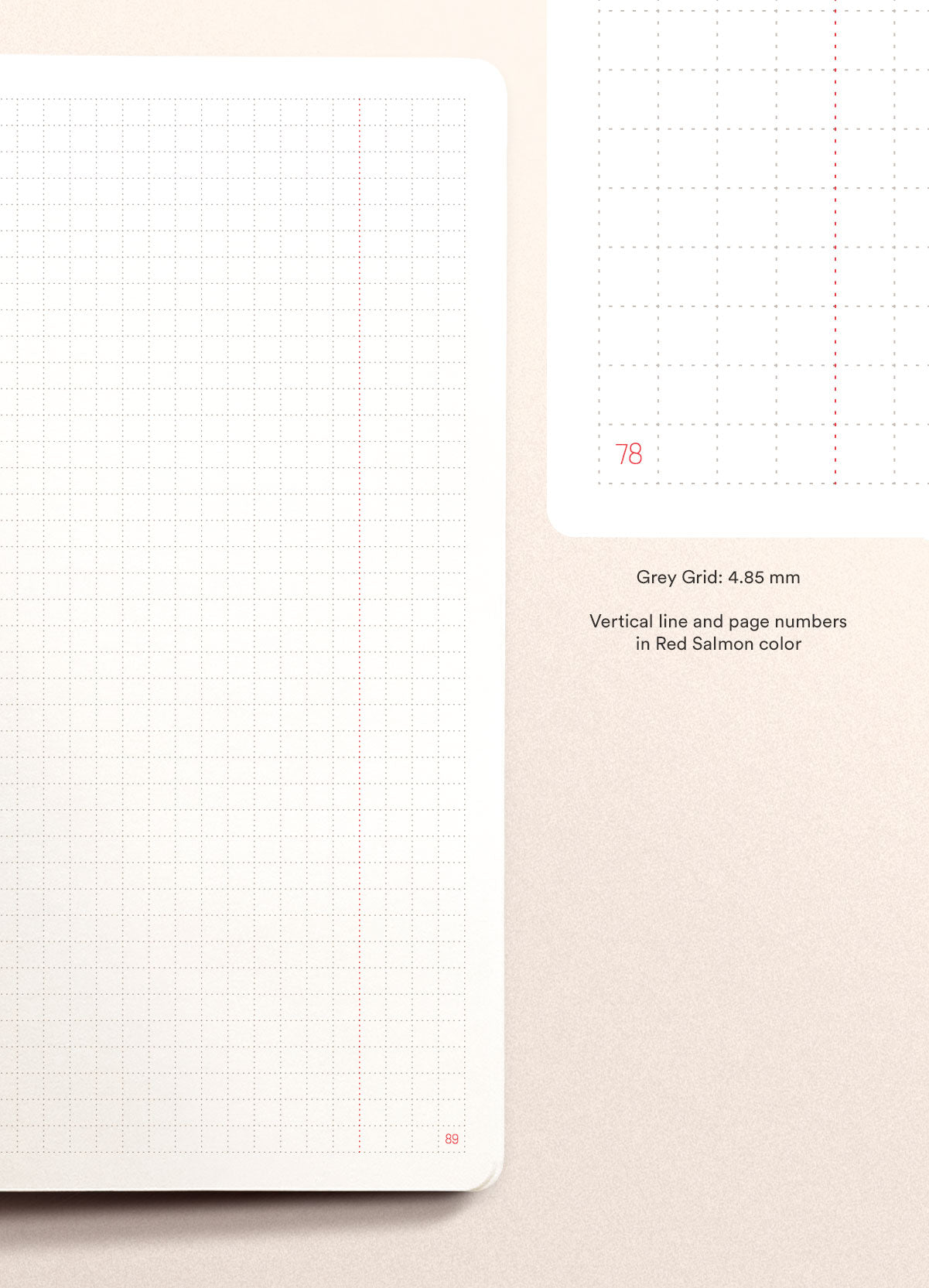N.406 (GRID) Notebook. A5 size [C]
