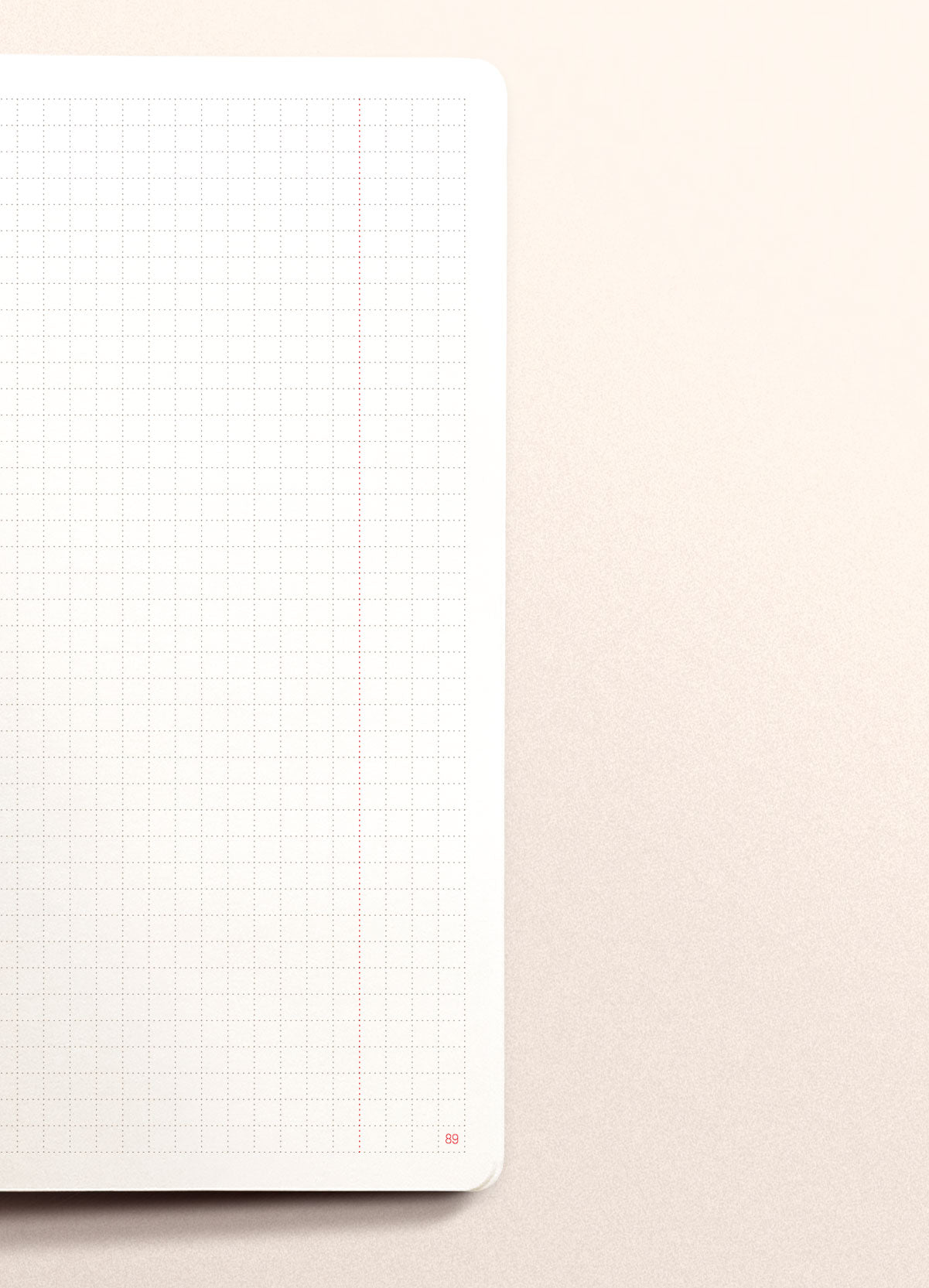 N.306 (GRID) Notebook. Slim / Traveler's notebook size [R]