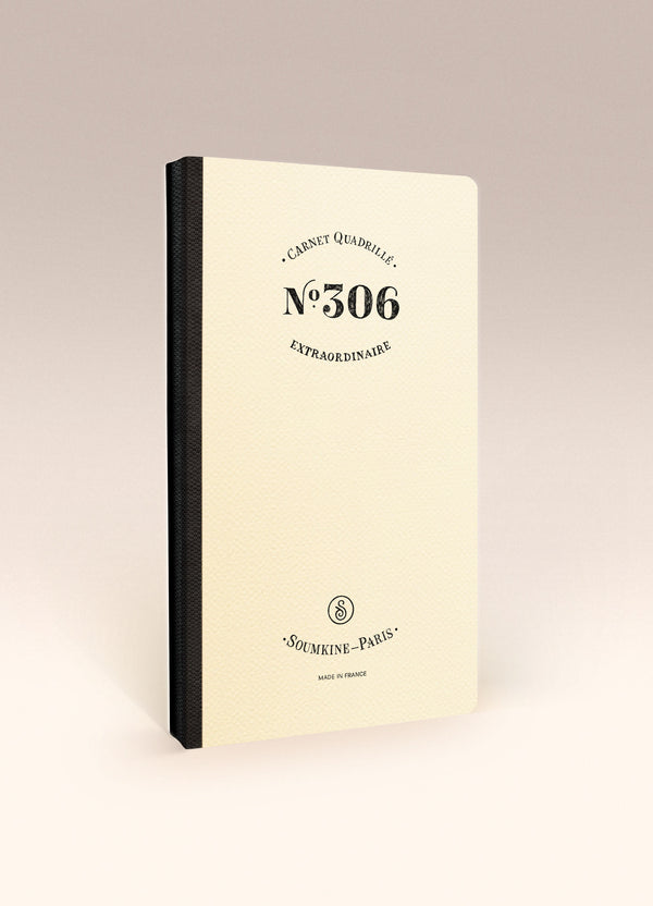 N.306 (GRID) Notebook. Slim / Traveler's notebook size [C]