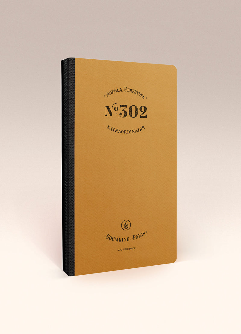 N.302 (Undated Weekly Planner) Slim / Traveler's notebook size [M]
