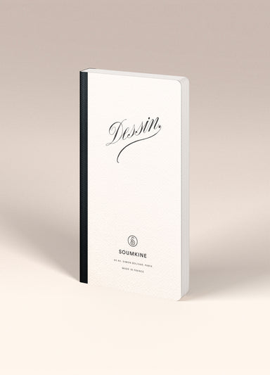 """Dessin"" SLIM Size. Ultra-Premium Sketchbook. 100% Cotton paper."